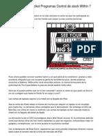 How to Kickstart Programas Control de Stock in 6 Seconds.20130212.192107