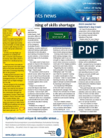 Business Events News for Wed 13 Feb 2013 - Warning of skills shortage, Private jet to Wolgan, LATAM targets groups, Techtalk and much more