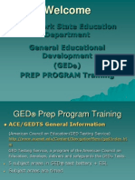What you need to know on General Education Development (GED) Preparation Training (New York)