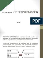 RENDIMIENTO DE UNA REACCION.pptx