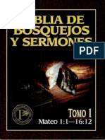 Biblia de Bosquejos Mateo