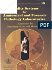 WHO 1999-Guidelines for Quality System in Anat Pathol and Forensic Pathology Laboratories