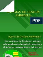Sistemas de Gestion Ambiental.