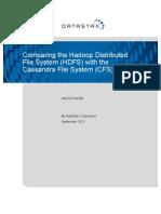 HDFS vs CFS