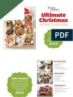 2012 BHG Christmas Cookie Challenge Winners