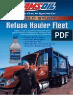 AMSOIL Diesel Oil - Field Study Refuse Hauler Fleet