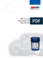 AMSOIL SAE 50 Long Life Synthetic Transmission Oil Field Study in Over the Road Applications