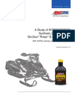 Study of AMSOIL INTERCEPTOR Synthetic 2Stroke Oil for Ski Doo Rotax ETEC Engines