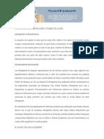 CAUSAS MAS COMUNES DEL DAÑO CUTANEO DE LA PIEL