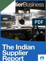 Indian Automotive Supplier Report