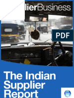 Indian Automotive Supplier Report