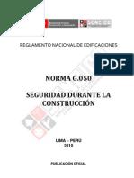 g.050seguridad en La Construccion