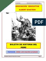 ASOCIACIÓN EDUCATIVA- BOLETIN DE HISTORIA DEL PERU