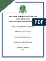 Plan de Contingencia Para Colegio Ventanas.