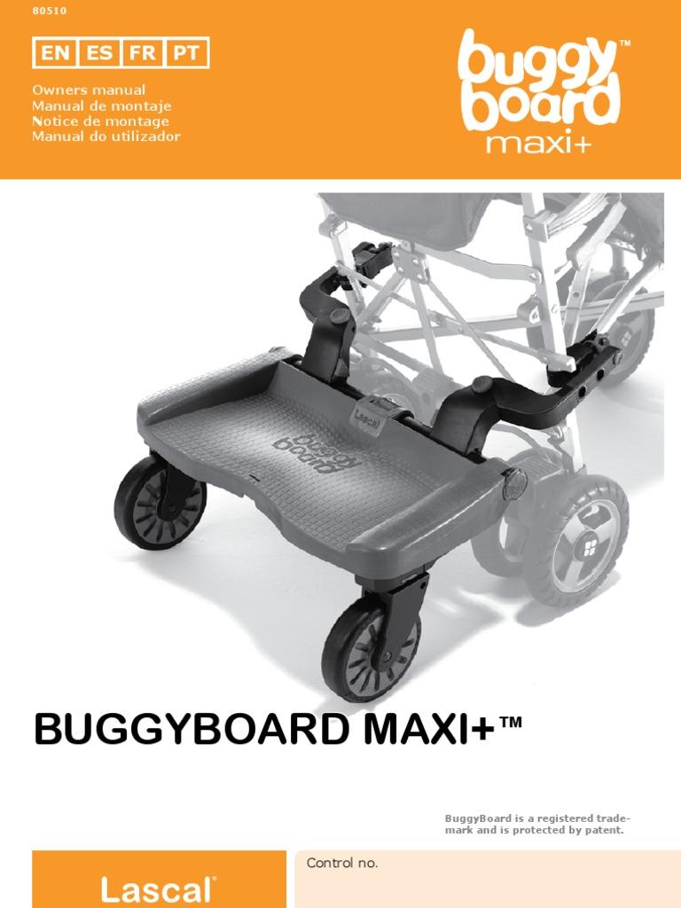 LASCAL MINI MAXI MAXI BUGGY BOARD SPARE PARTS Right And Left Clamp Connectors