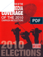 The CMFR Monitor of the News Media Coverage of the 2010 Campaign and Elections