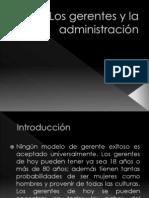 Los gerentes y la administración