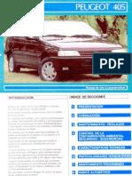Peugeot 405 Usuario