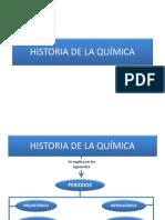 Historia de La Qu Mica