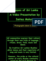 A Tour of Some Mosques of Sri Lanka