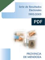 Resultados Electorales Mendoza 1995 2005