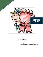 calidad - manual del profesor