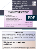 JONATHAN URBINA SOTO-ESTUDIOS DE ESTABILIDAD DE PARACETAMOL TABLETAS 200mg