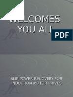 Slip Power Recovery