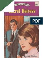 Farnes, Eleanor - Secret Heiress