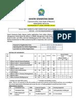 Kaveri Recruitment Advt 2012-PDF