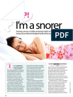 Good Health - How to Stop Snoring