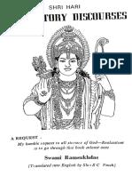 Benedictiory Discourses - Swami Ramsukhdas Ji