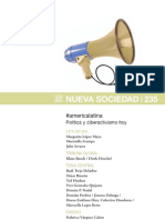NUEVA SOCIEDAD Nº 235 AMERICA LATINA POLITICA Y CIBERACTIVISMO HOY
