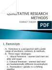 Feminist Theory and Criticism