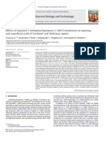 Effects of repeated 1-methylcyclopropene (1-MCP) treatments on ripening  and superficial scald of 'Cortland' and 'Delicious' apples