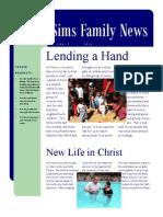 Newsletter Vol. 1, 2013