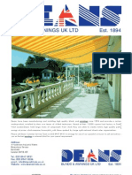Awnings from Deans