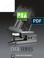 CVCA SERIES Voice Coil Actuator - PBASystems