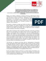 Nota de Prensa Salud Sexual 2013