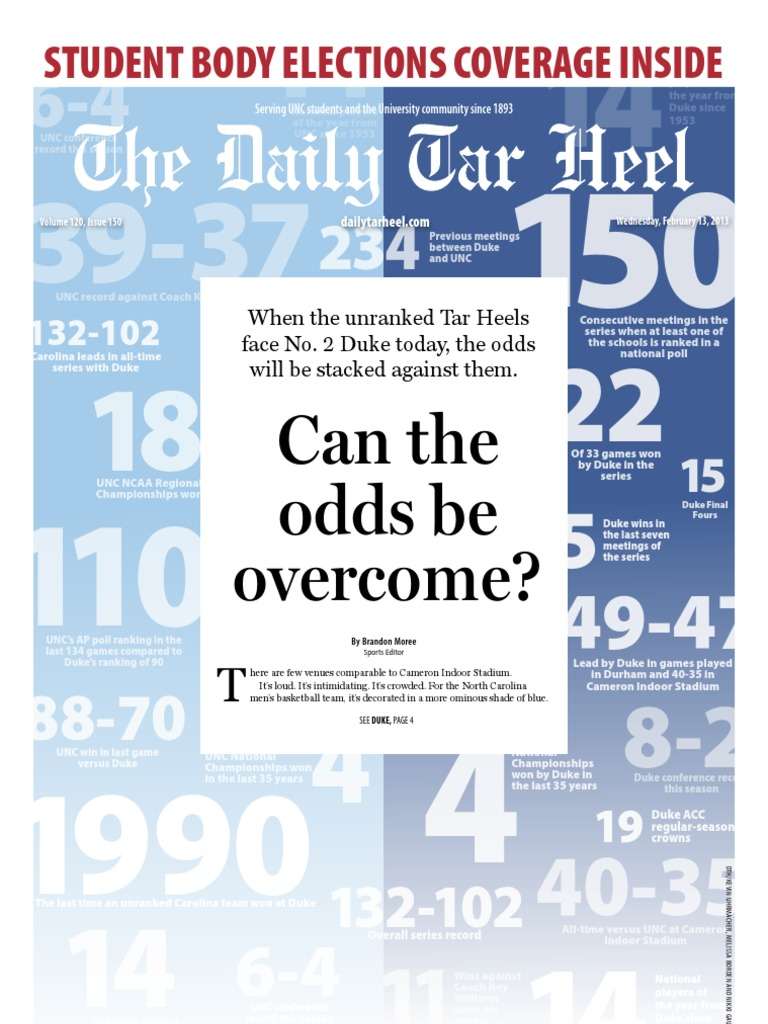 the daily tar heel for february 13 2013 university of north