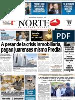 Periodico Norte de Ciudad Juárez 12 de Febrero de 2013