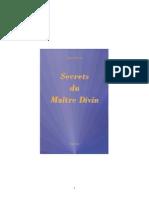 Secrets Du Maître Divin