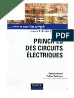 Principes des circuits électronique