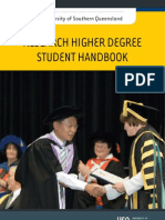 RHD Student Handbook