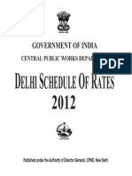 Delhi Schedule of Rates