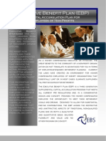 Executive Benefit Plan (EBP) (Flyer)