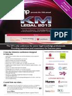 KM Legal 2013