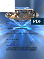 Formular de Inscriere Raza de Diamant