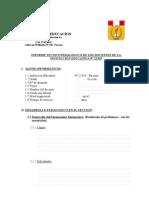 Modelo - Informe Tecnico 2012