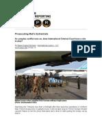 Prosecuting Mali's Extremists